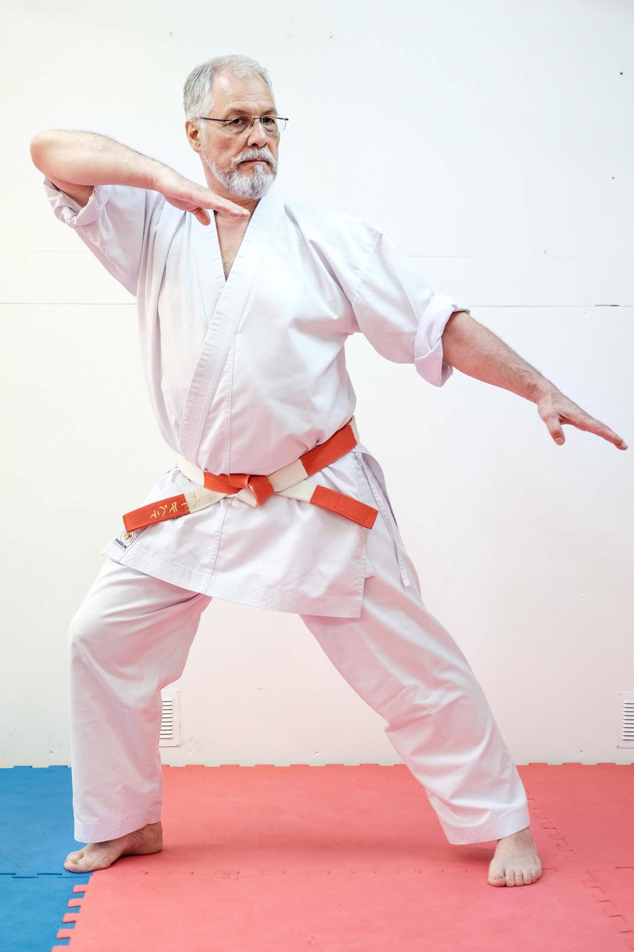 Cours de karaté JKY Debatty Shihan Sensei Debatty