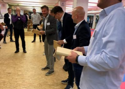Soirée teambuilding au Dojo JKY Debatty à Liège
