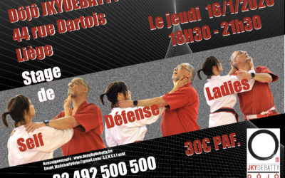 Cours de self défense ladies only